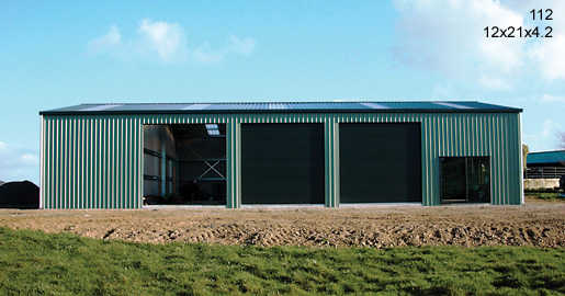 112 - 12x21x4.2 - Farm shed | Storage Shed | Workshop | Wide Span Shed