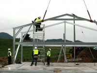 102 - 12x25x4.1 Farm-shed|Storage Shed| Garage Shed |Wide Span Shed | Workshop | Steel shed