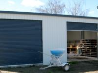 131- 9x10.5x3.6 Farm-shed|Storage Shed| Garage Shed |Wide Span Shed | Workshop | Steel shed