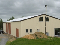 139 - 12X25X4.1 Farm Shed|Storage Shed| Garage Shed |Wide Span Shed | Workshop | Steel shed