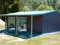 130 -  7.5x10x6 Farm-shed|Storage Shed| Garage Shed |Wide Span Shed | Workshop | Steel shed
