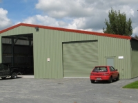 150 -17.5x28x3.8 Industrial Shed | Commercial Shed | Storage Shed | Workshops
