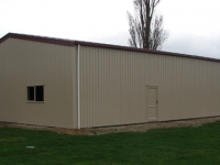 162 - 12x20x4 Industrial Shed | Commercial Shed | Storage Shed | Workshops