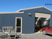 104 - 6.5+3x14x3.1+2.4 Industrial Shed | Commercial Shed | Storage Shed | Workshops