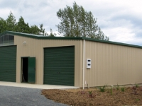 125 - 12x15x3.5 Industrial Shed | Commercial Shed | Storage Shed | Workshops