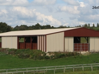 169 - 24x66x5 Lifestyle Shed |Storage Sheds |Garage Sheds |Horse Sheds |Car Shed |Workshop |Steel Sheds
