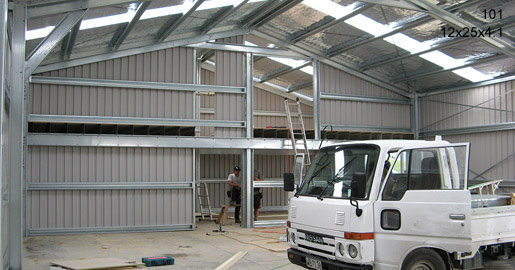 101 - 12x25x4.2 - Farm shed   Storage Shed   Workshop   Wide Span Shed