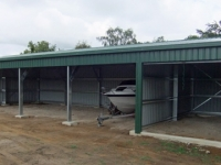 136 - 7.5x17.5x3 Farm Shed|Storage Shed| Garage Shed |Wide Span Shed | Workshop | Steel shed