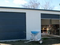 131- 9x10.5x3.6 Farm-shed|Storage Shed| Garage Shed |Wide Span Shed | Workshop | Steel shed