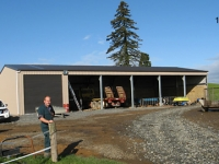 113 - 12x 25x 4.25 Farm Shed |Storage Shed |Garage Shed | Wide Span Shed | Workshop | Steel Shed