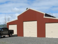 133 - 12x7x3 Farm Shed|Storage Shed| Garage Shed |Wide Span Shed | Workshop | Steel shed