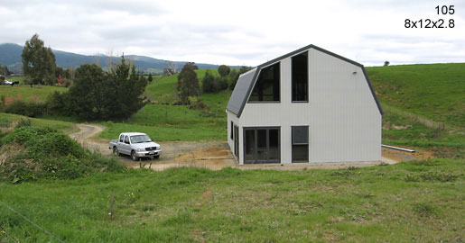 105 - 8x12x2.8 Habitable Shed | Residential | Storage Shed | Garage Shed |Workshop |Steel Shed