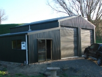 140 - 12x9x4 Habitable Shed | Residential | Storage Shed | Garage Shed |Workshop |Steel Shed