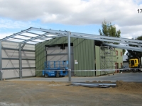 161 - 17.5x28x3.8 Industrial Shed | Commercial Shed | Storage Shed | Workshops