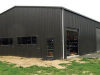 110 - 12x21x4.8 Industrial Shed | Commercial Shed | Storage Shed | Workshops