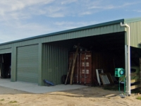 132 - 9x22.4x3.5 Industrial Shed | Commercial Shed | Storage Shed | Workshops