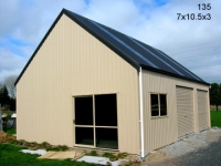 135 - 7x10.5x3 Lifestyle Shed |Storage Sheds |Garage Sheds |Horse Sheds |Car Shed |Workshop |Steel Sheds